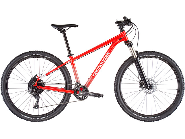 Cannondale Trail 5, rally red